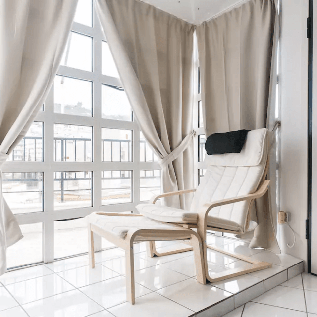 Sunny apartment with view - Kipseli, Athens - Living room