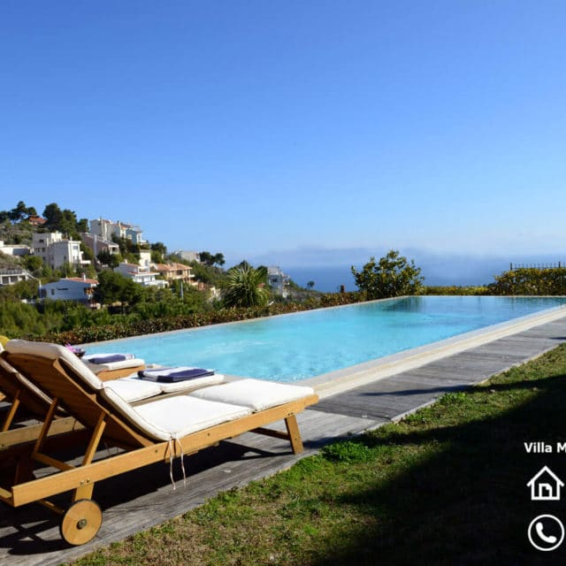Villa Marina Neos Voutzas - View from the pool