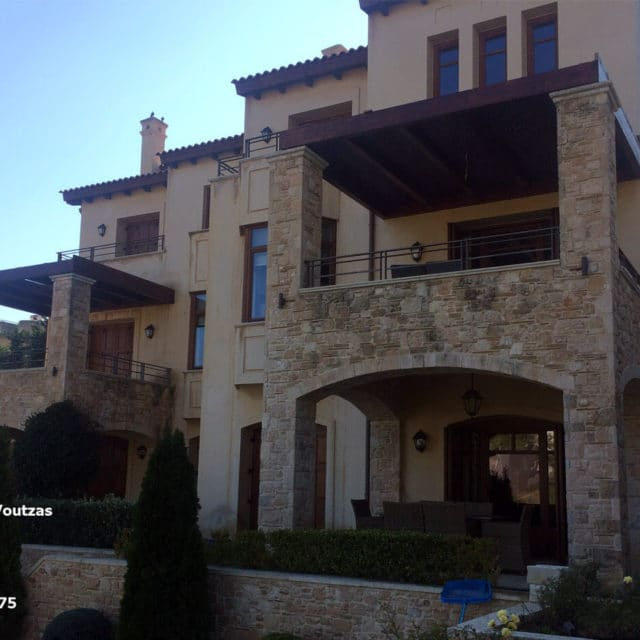 Villa Marina Neos Voutzas - view of the house north side